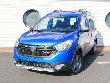 Dacia Dokker EU-Import Stepway Plus Adria-Blau-Metallic