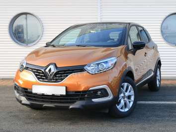 Renault Captur EU-Import Limited Luxe Taklamakan-Orange-Metallic